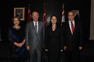 KKTC'nin 32'nci kuruluş yıldönümü resepsiyonu (15 Kasım 2015)